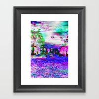 Elucidate (collaboration… Framed Art Print