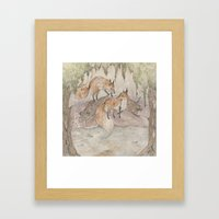 Fox [[ 1 ]] Framed Art Print