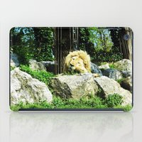THE LION SLEEPS TODAY iPad Case
