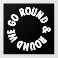Canvas Print featuring Round & Round by Eric Zelinski