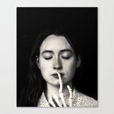 shh Canvas Print
