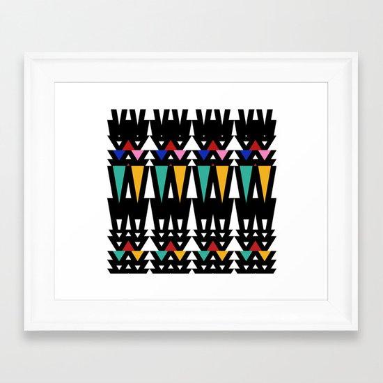 Tribal Fun 2 Framed Art Print