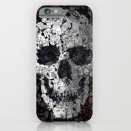iPhone & iPod Case featuring Doodle Skull by Ali GULEC