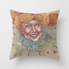 FRIZZ Throw Pillow