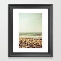 Free At The Sea Framed Art Print