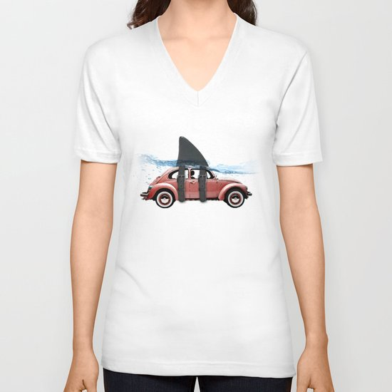 VW soup V-neck T-shirt