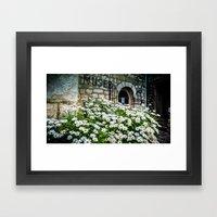 Museum & Wild Flowers - … Framed Art Print
