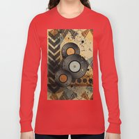 Retro Vinyl. Long Sleeve T-shirt