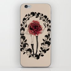 The wreath iPhone & iPod Skin