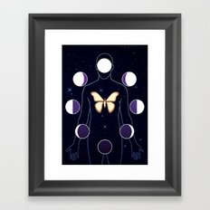 The Mothman Framed Art Print