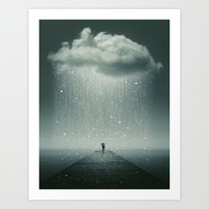 Weathering the Storm Art Print