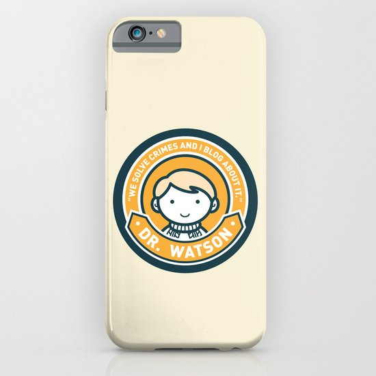 Cute John Watson - Orange iPhone & iPod Case