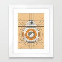 BB-8 Deco Droid Framed Art Print