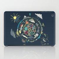 Running Like Clockworld iPad Case