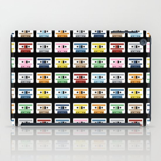 70 Rainbow Tapes iPad Case