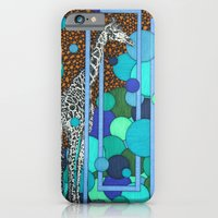 iPhone & iPod Case featuring Tall Giraffe by Aimee Alexander