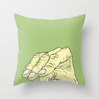 Blah Blah Blah Throw Pillow