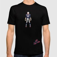 Pats - Tom Brady Mens Fitted Tee Black SMALL