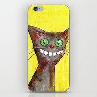 Derp Cat iPhone & iPod Skin