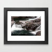 Spokane Falls Framed Art Print