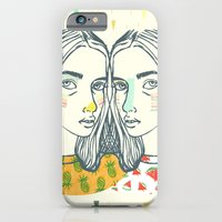 iPhone & iPod Case featuring Last Sunset Twins by Serpentine