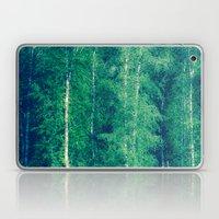 The Birch Forest I Laptop & iPad Skin