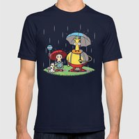 My Friend Hef Mens Fitted Tee Navy SMALL