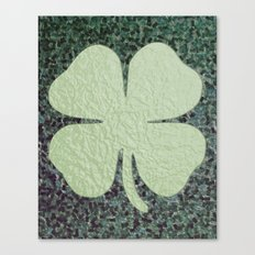 Lucky Clover Canvas Print
