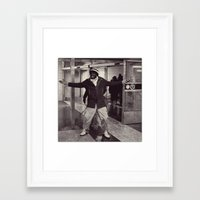 Look at me! Framed Art Print