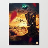 The Last Autumn Canvas Print