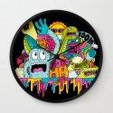 Dino Jam Wall Clock