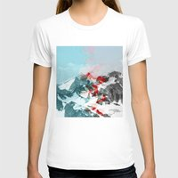 another abstract dream 2 Womens Fitted Tee White SMALL