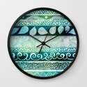Dreamy Tribal Part VIII Wall Clock