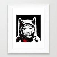 Framed Art Print featuring Adventure Time - Finn by Suarez Art
