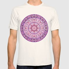 Compass Point Kaleidoscope 2 Mens Fitted Tee Natural SMALL