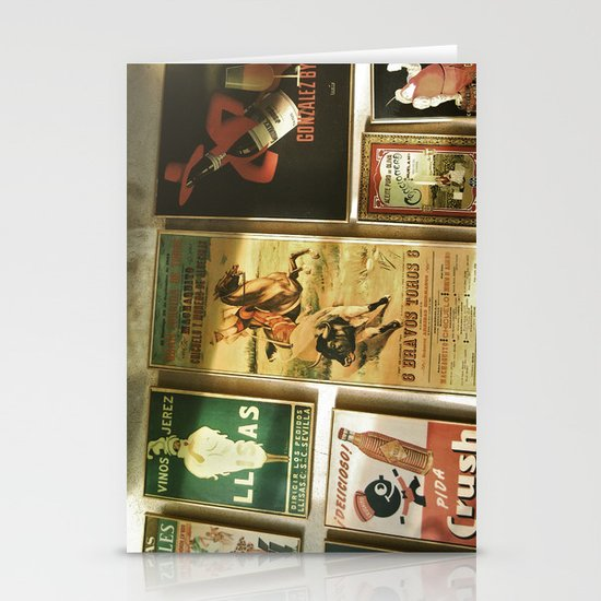 Andaluz Café Stationery Card