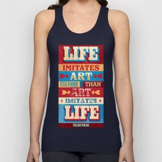 Life and Art Unisex Tank Top