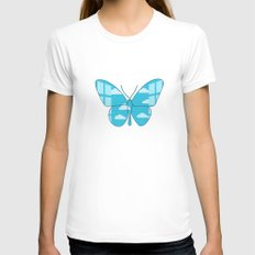 Freedom Womens Fitted Tee White SMALL