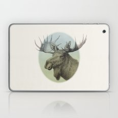 Moose head elk Laptop & iPad Skin