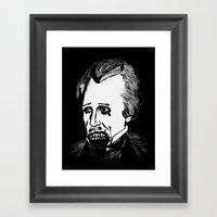07. Zombie Andrew Jackso… Framed Art Print