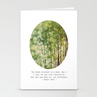 Two Roads Stationery Cards