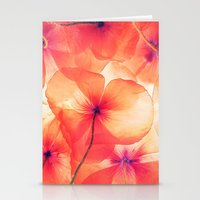 Photo flower Stationery Cards