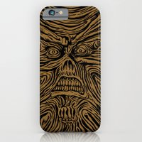 Book Looks Like A Face iPhone 6 Slim Case