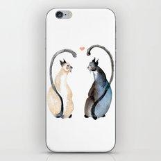 Cat Love iPhone & iPod Skin