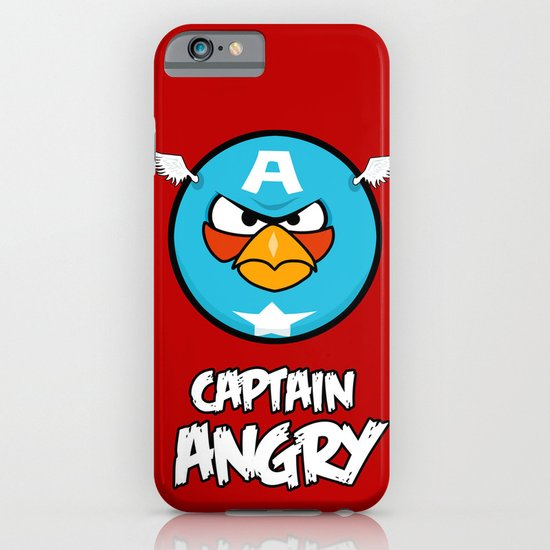 Captain Angry iPhone & iPod Case