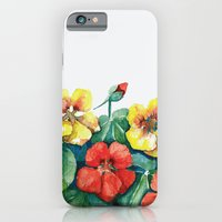 iPhone & iPod Case featuring Nasturtium by Glashka