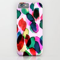 iPhone & iPod Case featuring Rainbow Drizzle Jewel by Amy Sia