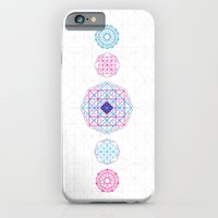 iPhone & iPod Case featuring Geometric Mandalas by Guilherme FDG