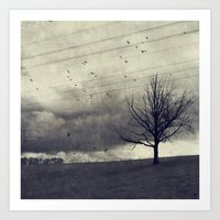 One Of These Days - Autu… Art Print