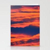 Endless sky Stationery Cards